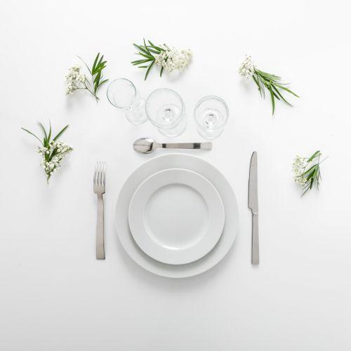 Pack standard blanc - plat et dessert (10 pers)