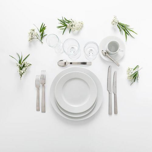 Pack Premium blanc - entrée, plat, dessert, café (10 pers)