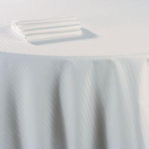 Serviette de table coton blanc 60 x 60 cm